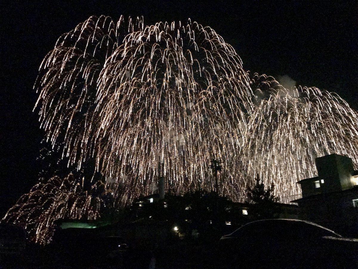 彦根の花火を見てきました(^-^)